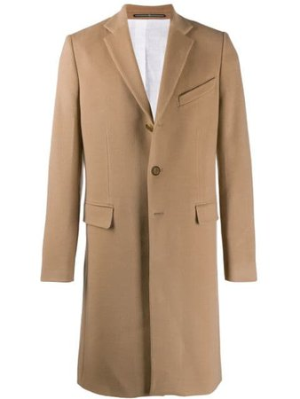 Givenchy Cashmere Single Breasted Coat - Farfetch