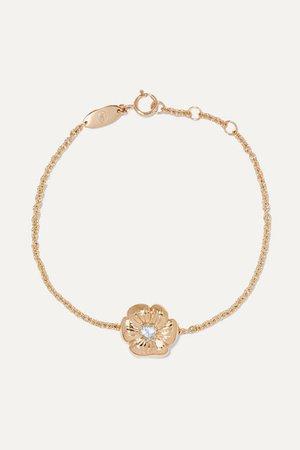 Aurélie Bidermann | 18-karat gold topaz bracelet | NET-A-PORTER.COM