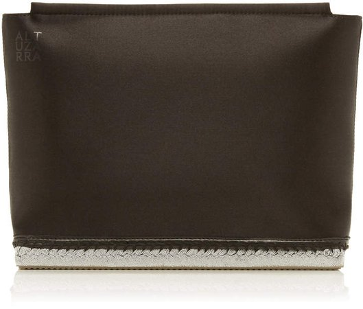 Altuzarra Espadrille Silk Evening Clutch