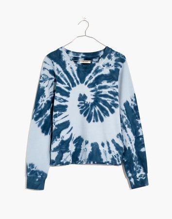 Tie-Dye (Re)sourced Cotton Crop Sweatshirt