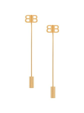 Balenciaga BB Pin Earrings - Farfetch