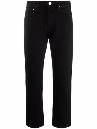 Totême straight cropped jeans - FARFETCH