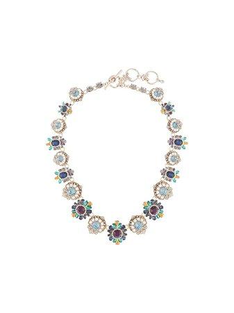 Marchesa, Regal Affair Embellished Necklace