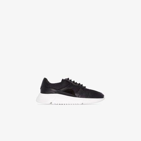 Black Genesis low top sneakers