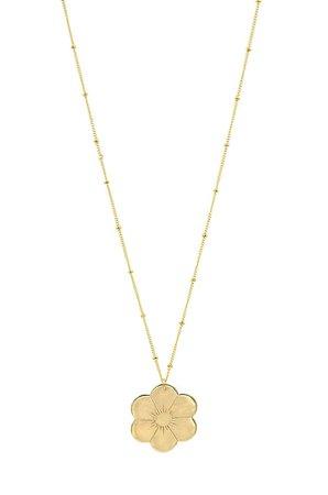 Paradigm Flower Necklace - Gold | Garmentory