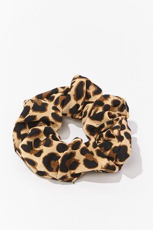Leopard Print Scrunchie | Forever 21