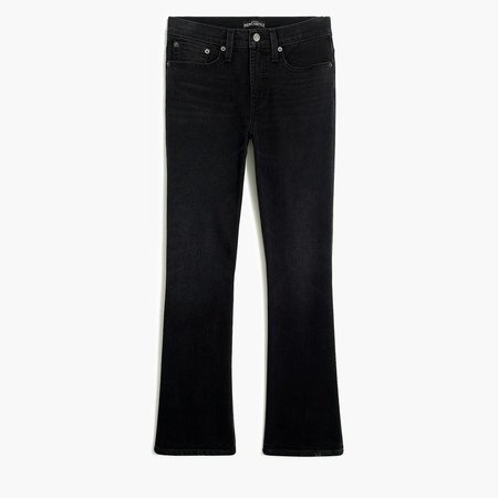 "9"" High-Rise Flare Crop Jean"