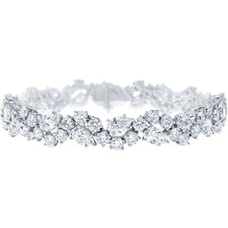 Winston Cluster von Harry Winston, Diamond Bracelet