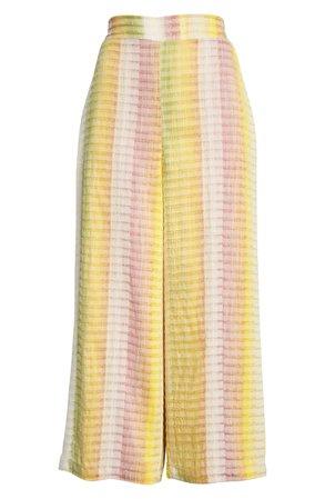 Dolan Pam Stripe Wide Leg Crop Pants | Nordstrom