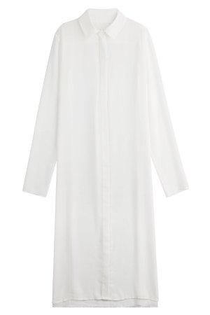 Long Sheer Shirt Gr. DE 40