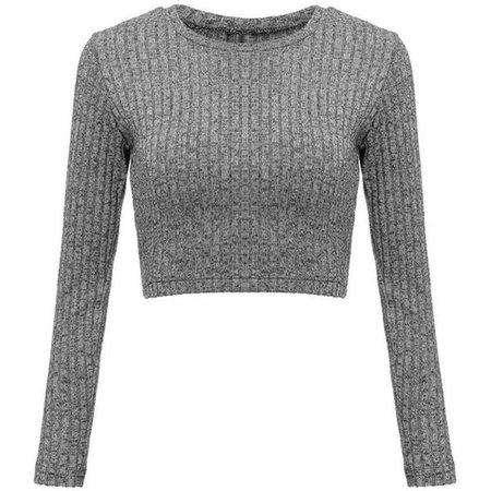 Women Long Sleeve Backless Criss Cross Cropped Short T-Shirt