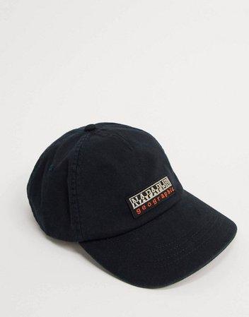 Napapijri Fase cap in black | ASOS