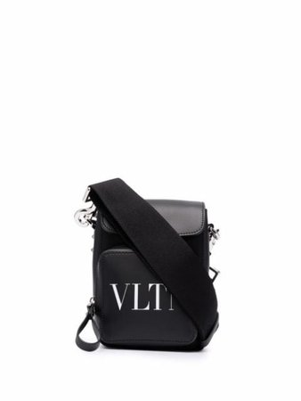 Valentino Garavani logo-print crossbody bag - FARFETCH