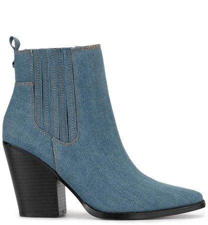 Kendall+Kylie KK Colt denim boots