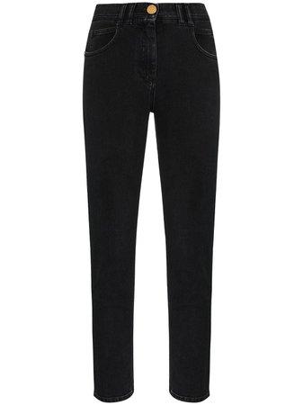Balmain high-waist slim-leg Jeans - Farfetch