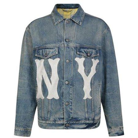 GUCCI Ny Yankees Denim Jacket