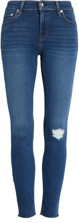 Cate Distressed Ankle Skinny Jeans