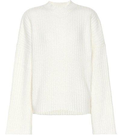 Kara cashmere and silk-blend sweater