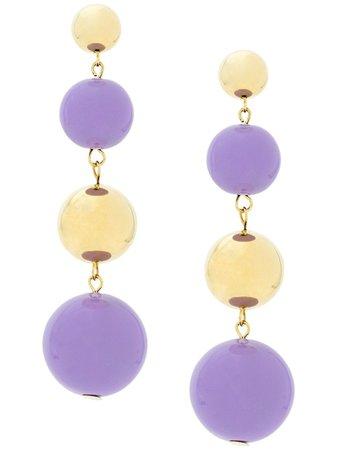 Eshvi Ball Drop Earrings Ss20 | Farfetch.com