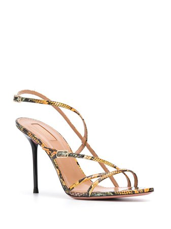 Aquazzura Carolyne 95 Sandals - Farfetch