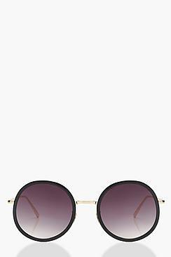 Erin Oversize Round Sunglasses