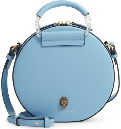 Kurt Geiger London Harriet Eagle Leather Round Crossbody Bag | Nordstrom