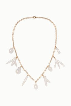 pearl necklace | NET-A-PORTER.COM