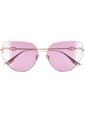Dior Eyewear oversized-frame Sunglasses - Farfetch