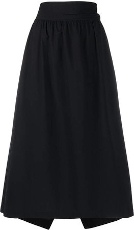Y 3 high-waisted midi skirt