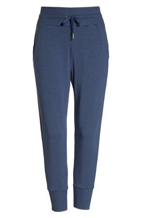 Zella Repeat High Waist Crop Jogger Pants Blue