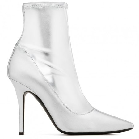 Salomè - Boots - Silver | Giuseppe Zanotti - USA