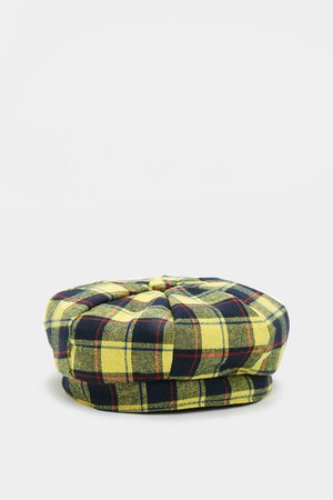 """""""Stay On Top"""" Plaid Beret"""