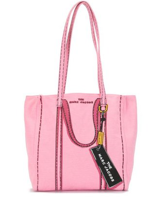 The Marc Jacobs The Pink Lady Illustrated Tote Ss20 | Farfetch.Com