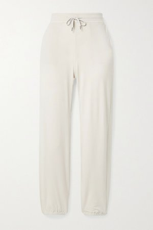 Off-white Brushed-jersey track pants