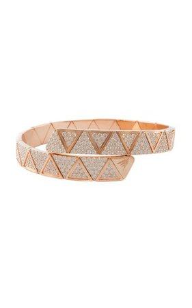 Evolution 18k Rose Gold Diamond Bracelet By Alessa | Moda Operandi