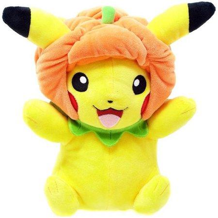 Pokemon Pikachu 9-Inch Plush [Pumpkin Hat] : Target