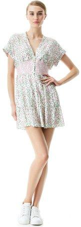 Keela Smocked Waist Mini Dress