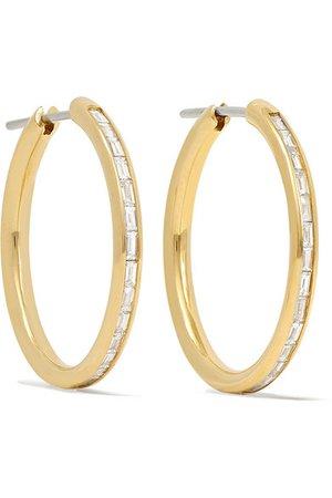 Spinelli Kilcollin | Miri 18-karat gold diamond hoop earrings | NET-A-PORTER.COM