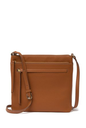 Finn Leather Crossbody Bag