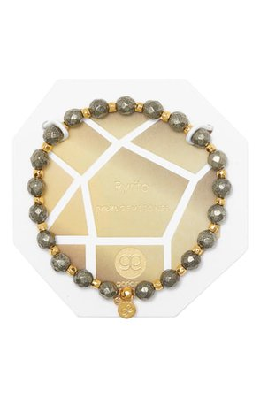 gorjana Power Stone Stretch Bracelet | Nordstrom