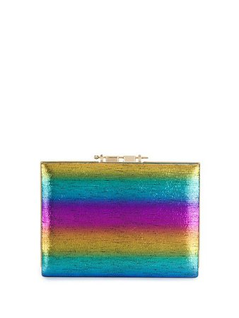M2malletier rainbow box clutch £1,076 - Shop SS19 Online - Fast Delivery, Free Returns
