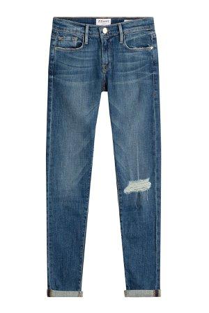 Le Garcon Distressed Skinny Jeans Gr. 31