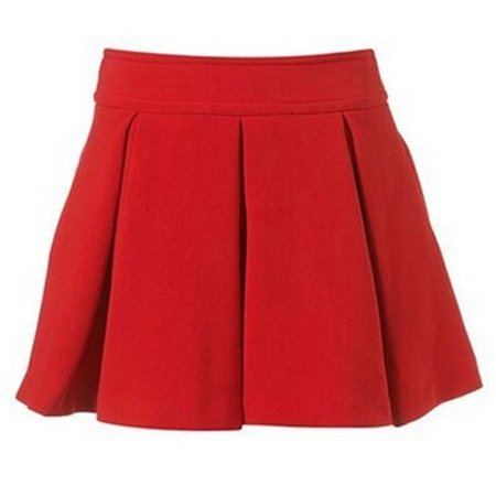 Red Uniform Skirt