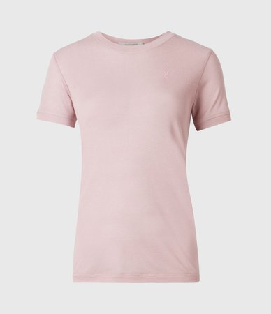 ALLSAINTS US: Womens Francesco T-Shirt (morning_mauve)