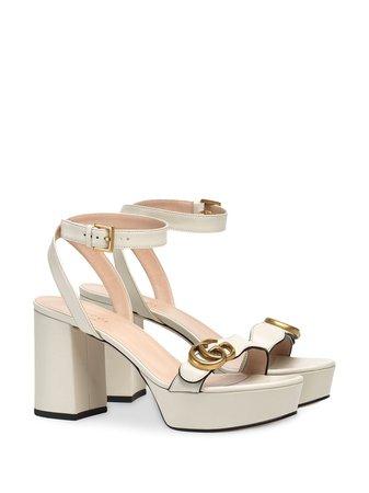 Gucci Gg Platform Sandals   Farfetch.com