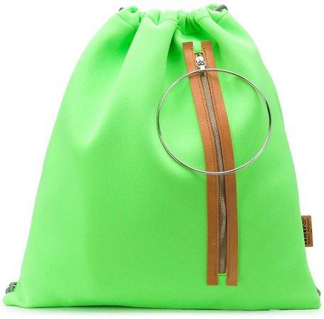 drawstring top backpack
