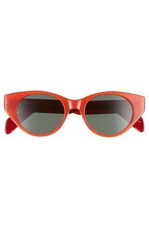 rag & bone 49mm Cat Eye Sunglasses | Nordstrom