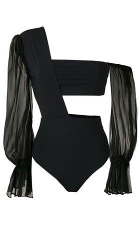 Amir Slama one shoulder bodysuit