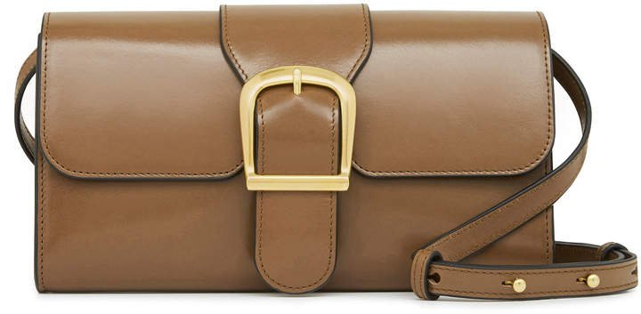 Rylan Small Classic Leather Shoulder Bag