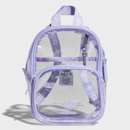 adidas Clear Mini Backpack - Purple | adidas US